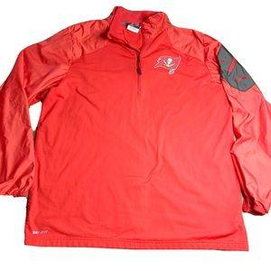 Nike Dri-Fit Buccaneers On Field Pullover Jacket
